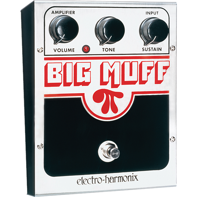 ElectroHarmonix BIGMUFFPI Big Muff PI Classic Distortion Sustainer Effects Pedal