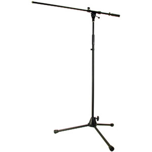 Profile MCS500 Tripod Microphone Stand in Black w/Boom