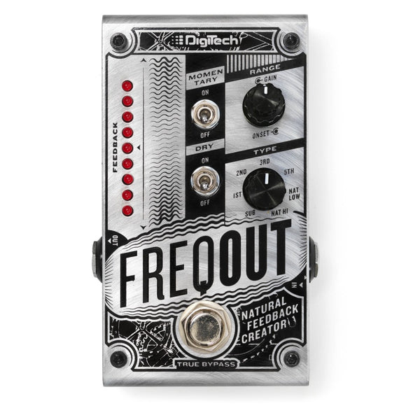 Digitech FREQOUT Natural Feedback Creator Effects Pedal