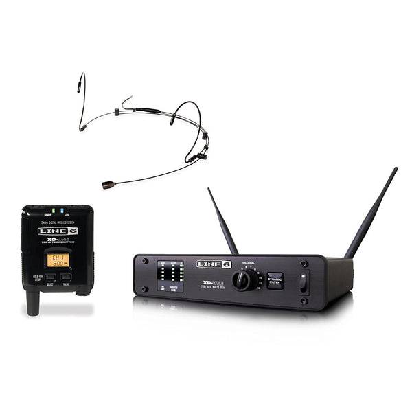 Line 6 L6XDV55HS Digital Wireless Headset Microphone System