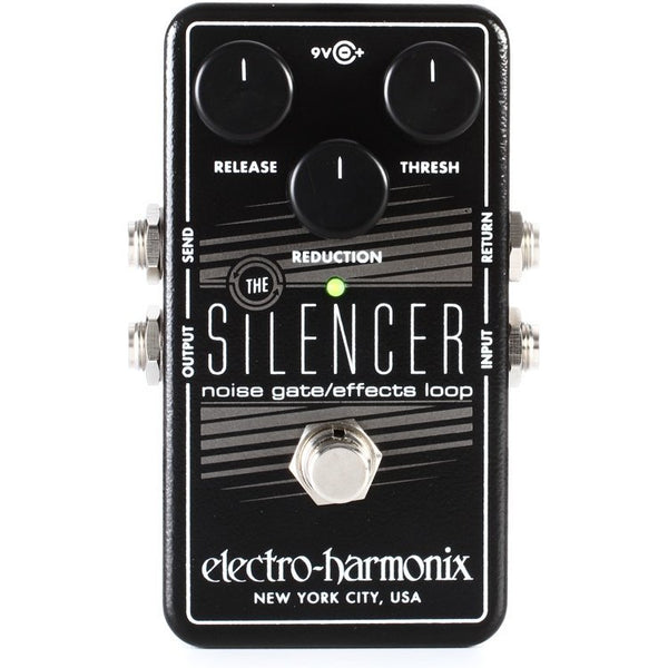 ElectroHarmonix SILENCER Noise Gate Effects Loop Effects Pedal
