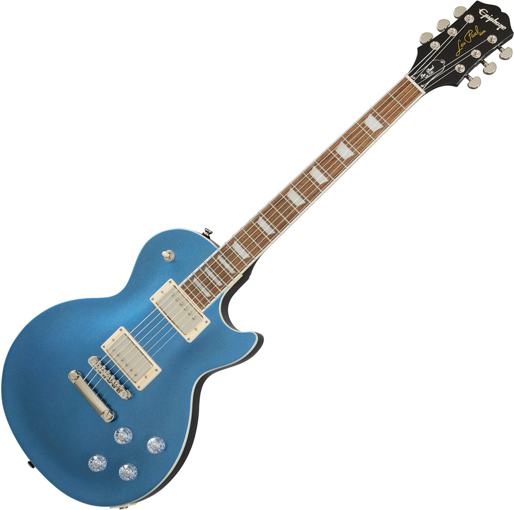 Epiphone Les Paul Muse Electric Guitar in Radio Blue Metallic - ELMURBNH