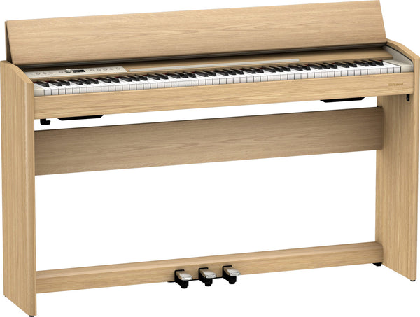 Roland Digital Piano Light Oak w/bench - F701LA