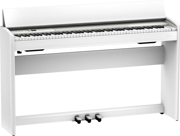 Roland Digital Piano Clean White w/bench - F701WH