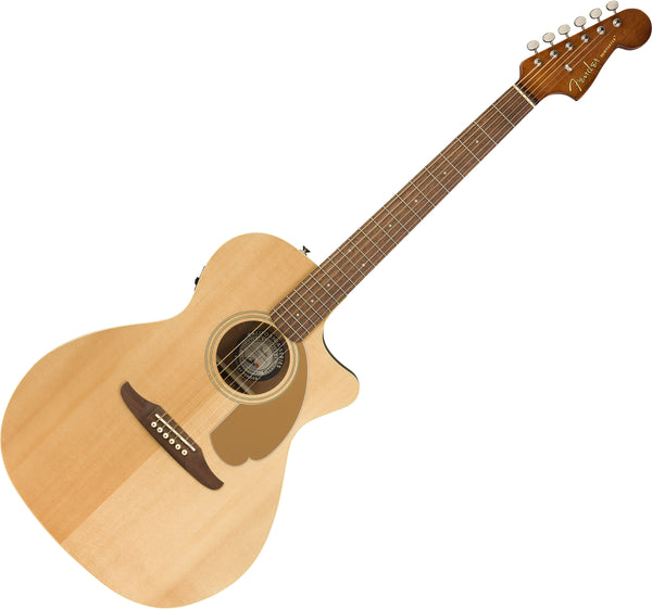 Fender Newporter Player Cutaway Acoustic Electric in Natural - 0970743021