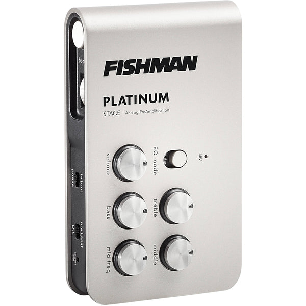 Fishman Platinum Stage External EQ/DI Effects Pedal - PROPLT301