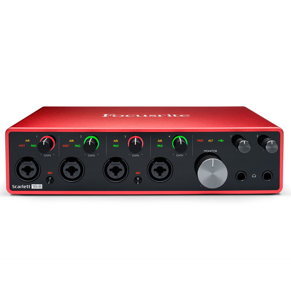 Focusrite SCARLETT18I8MK3 Scarlett 18i8 USB Audio Interface 3rd Generation
