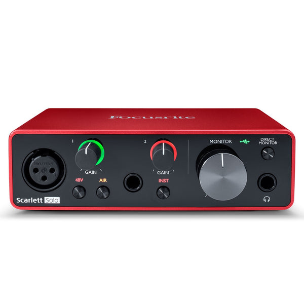 Focusrite SCARLETTSOLOMK3 Scarlett Solo USB Audio Interface 3rd Generation