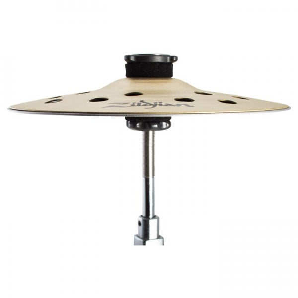 "Zildjian fxs10 10"" fx stack hi-hat Cymbal pair with cymbolt mount"