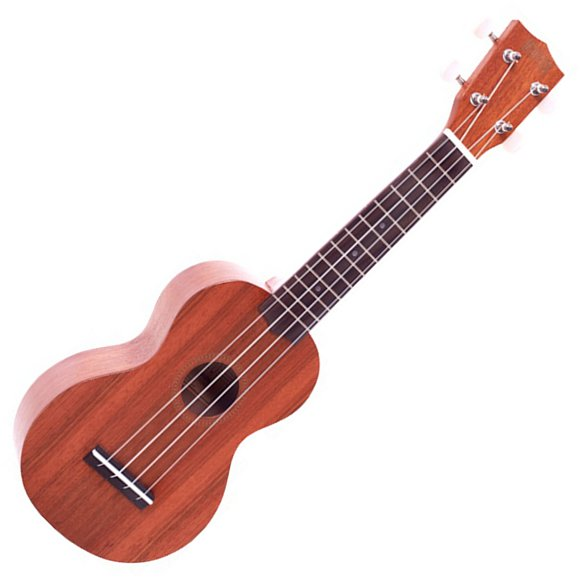 Mahalo MJ1TBR Java Series Soprano Ukulele in Transparent Wood