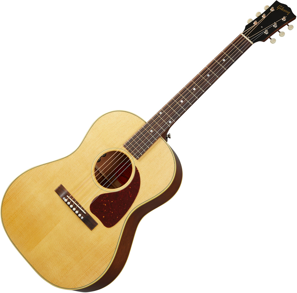 Gibson 50s LG-2 Original Acoustic Electric in Antique Natural with Case - ACOLG2ANNH