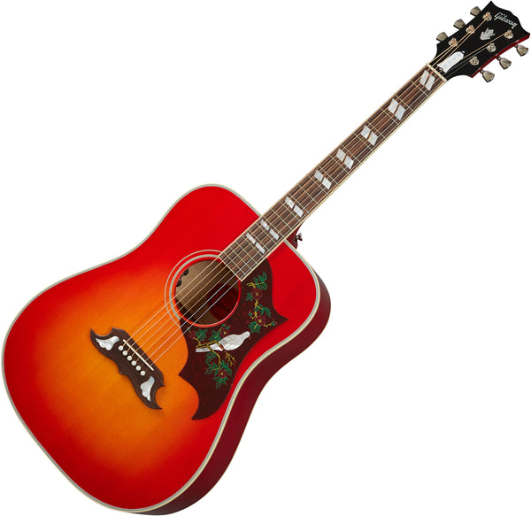 Gibson Dove Original Acoustic Electric in Vintage Cherry Sunburst with Case - ACODOVCNH