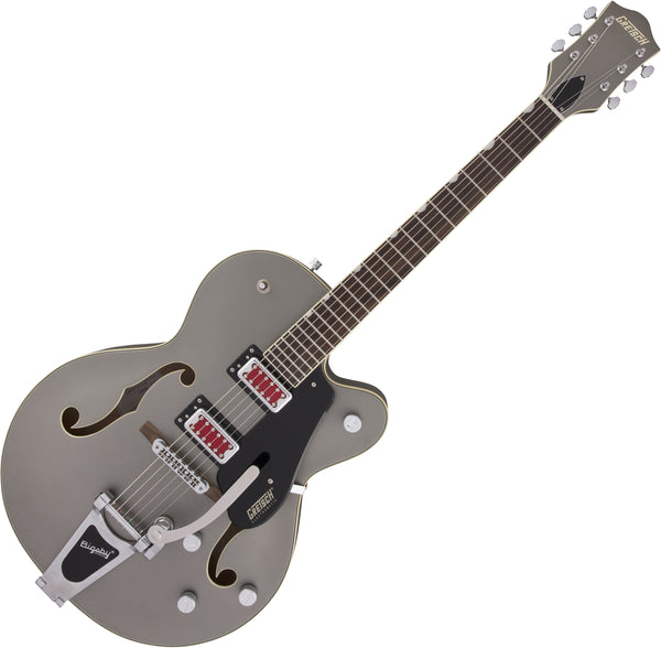 Gretsch Electromatic G5410T Electric Guitar Rat Rod Hollow Body Single-Cut Bigsby in Matte Phantom Metallic  - 2506811569