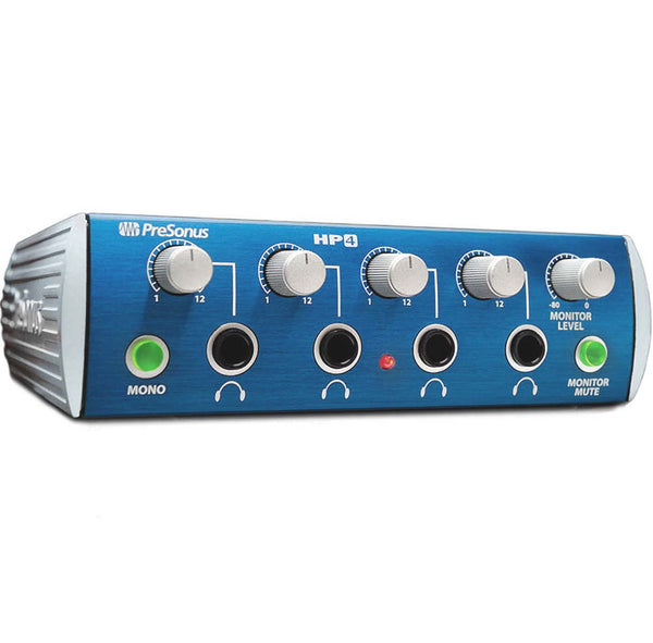 PreSonus HP4 4 Channel Headphone Amplifer