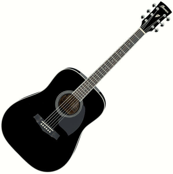 Ibanez PF15BK Performance Dreadnought Acoustic Guitar in Black