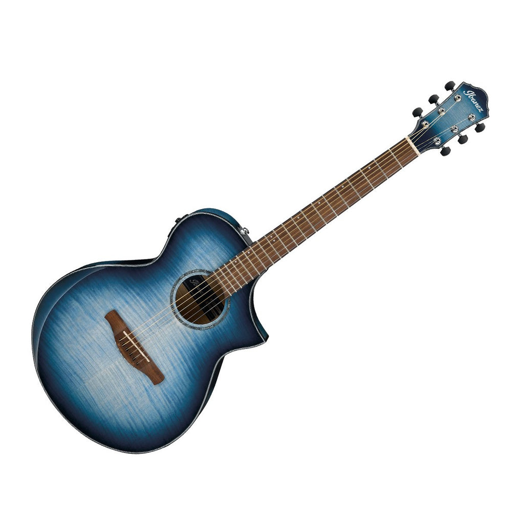 Ibanez AEWC Cutaway Acoustic Electric in Indigo Blueburst - AEWC400IBB