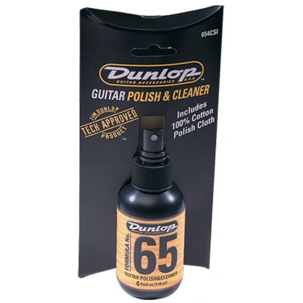Dunlop JD654C Dunlop JD654C Formula 65 Guitar Polish and Cloth