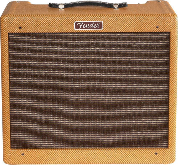 Fender 0213205700 Blues Junior Lacquer Tweed Tube Guitar Amplifier