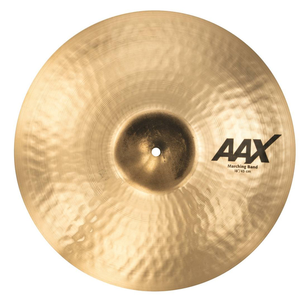 "Sabian 18"" AAX Marching Band Single Cymbal - 21822XC/1"