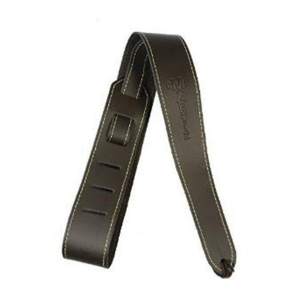 Martin 18A0045 Brown Leather Slim Guitar Strap