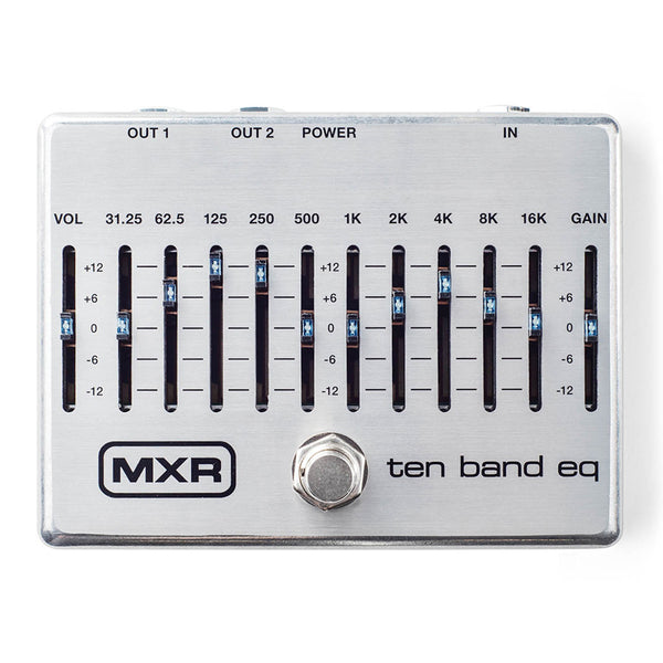 MXR M108S Ten Band Equalizer Effects Pedal