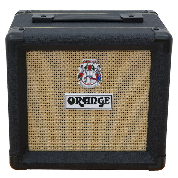 "Orange PPC108BK Micro Terror Cab 1x8"" Guitar Speaker Cabinet Closed Back in Black"