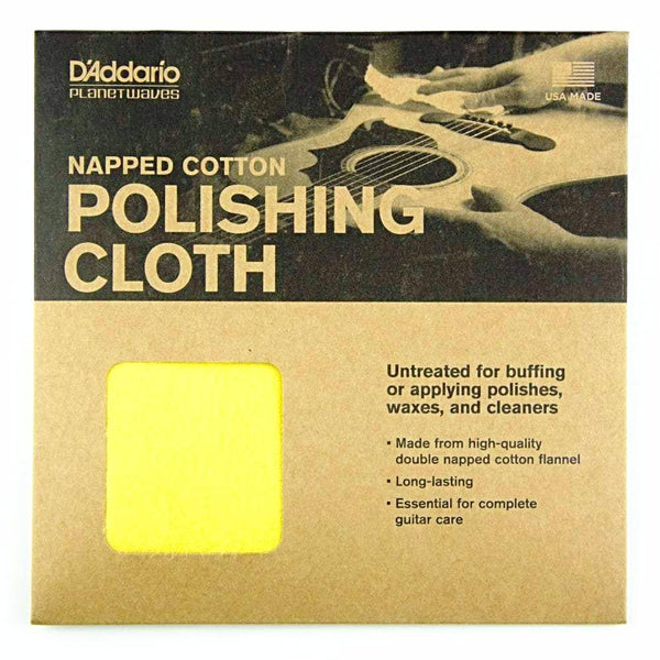 Planet Waves Untreated Guitar Polishing Cloth - PWPC2