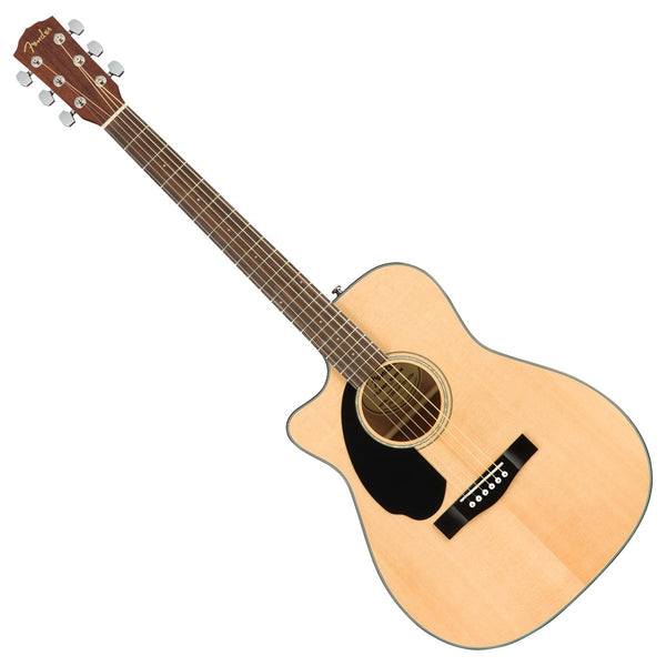 Fender CC-60SCE Concert Left Hand Spruce Top Acoustic Electric in Natural - 0970158021