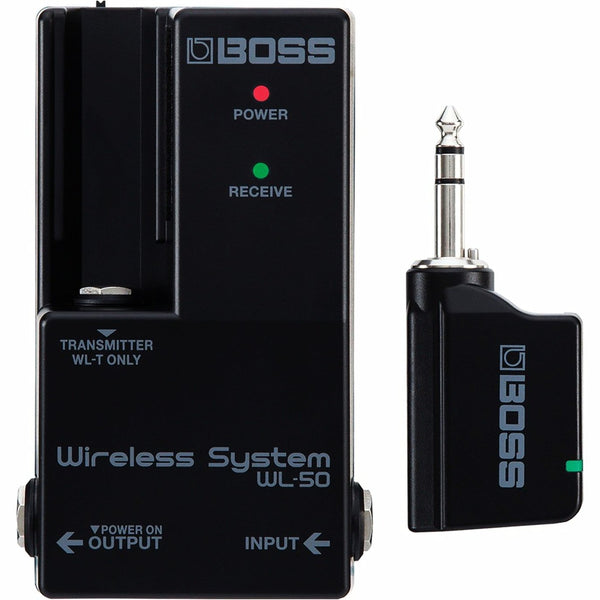 Boss WL50 Guitar Wireless Transmitter and Pedal Receiver