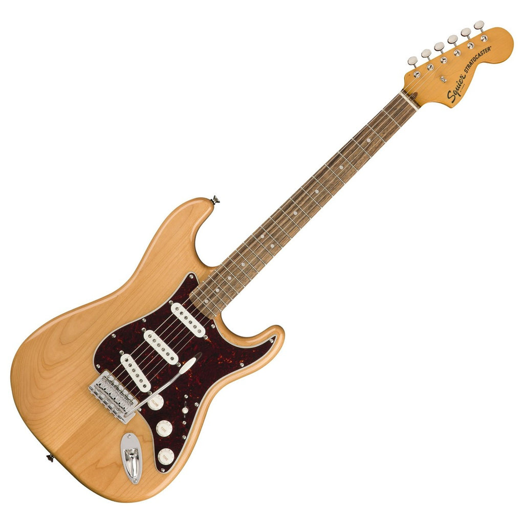 Squier Classic Vibe '70s Stratocaster Electric Guitar Laurel in Natural - 0374020521