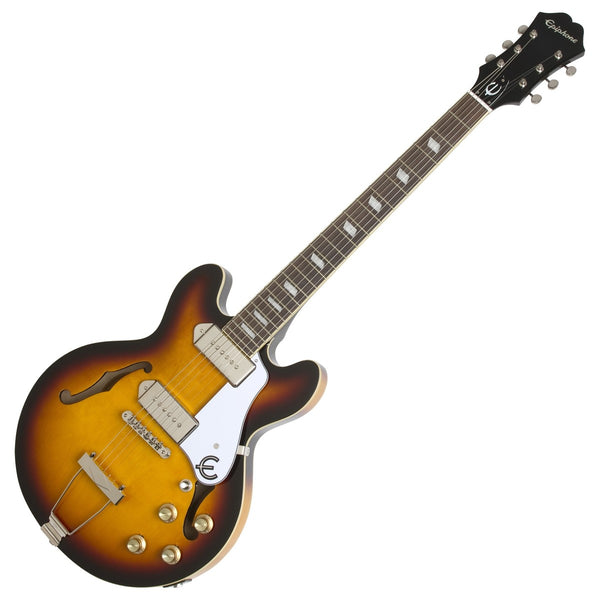 Epiphone Casino Coupe Hollow Body Electric Guitar in Vintage Burst - ETCCVSNH