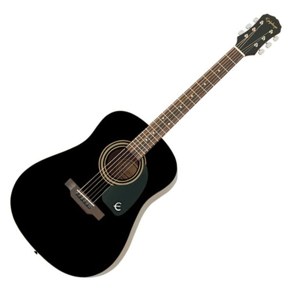 Epiphone DR100EBCH DR100 Dreadnought Acoustic Guitar in Ebony