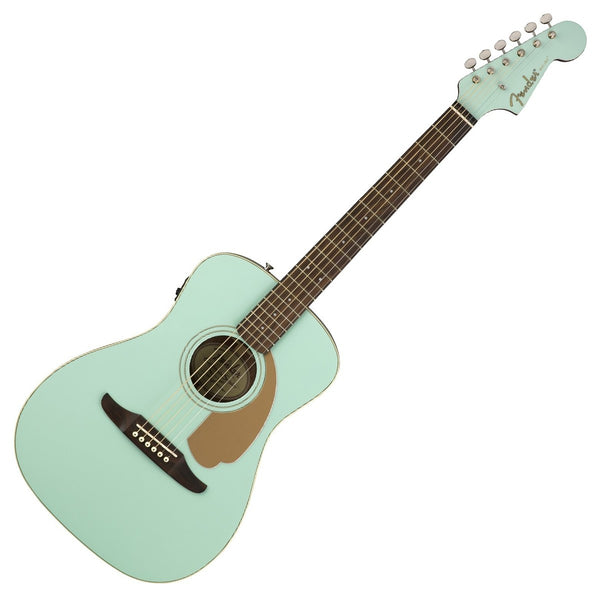 Fender 0970722008 Malibu Player Acoustic Electric in Aqua Splash