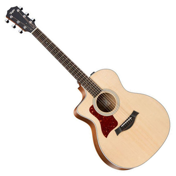 Taylor 214CELH Left Handed Grand Auditorium Cutaway Acoustic Electric