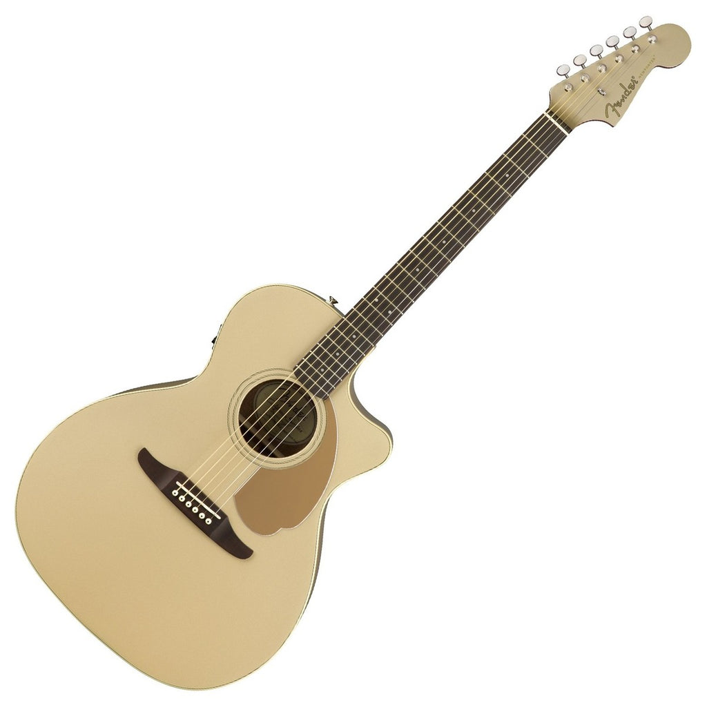 Fender 0970743044 Newporter Player Acoustic Electric in Champagne