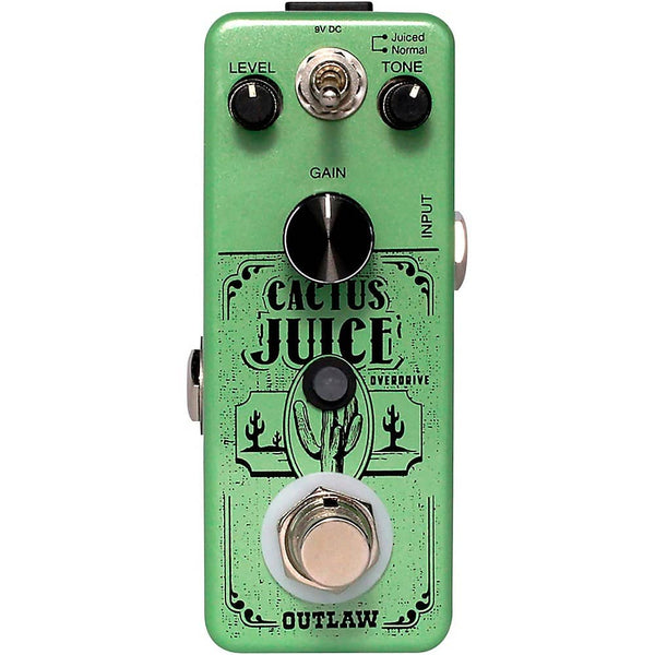 Outlaw Effects CACTUSJUICE 2 Mode Overdrive Effects Pedal