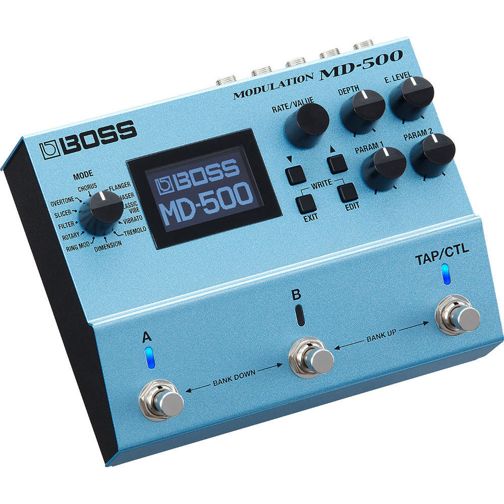 Boss MD500 Modulation Multi Effect Effects Pedal