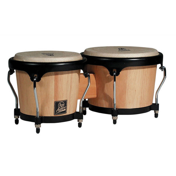 Latin Percussion Aspire Wood Bongos Natural - LPA601AW