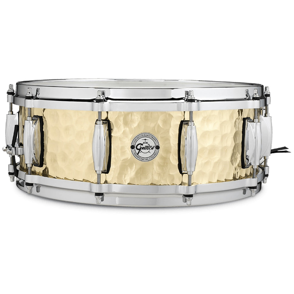 Gretsch S10514BRH Hammered Brass Snare Drum