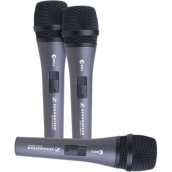 Sennheiser 3PACKVOCALS Vocal Cardioid Vocal Microphone Pack