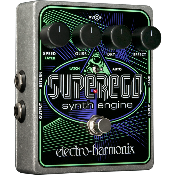 ElectroHarmonix SUPEREGO Polyphonic Synth Effects Pedal