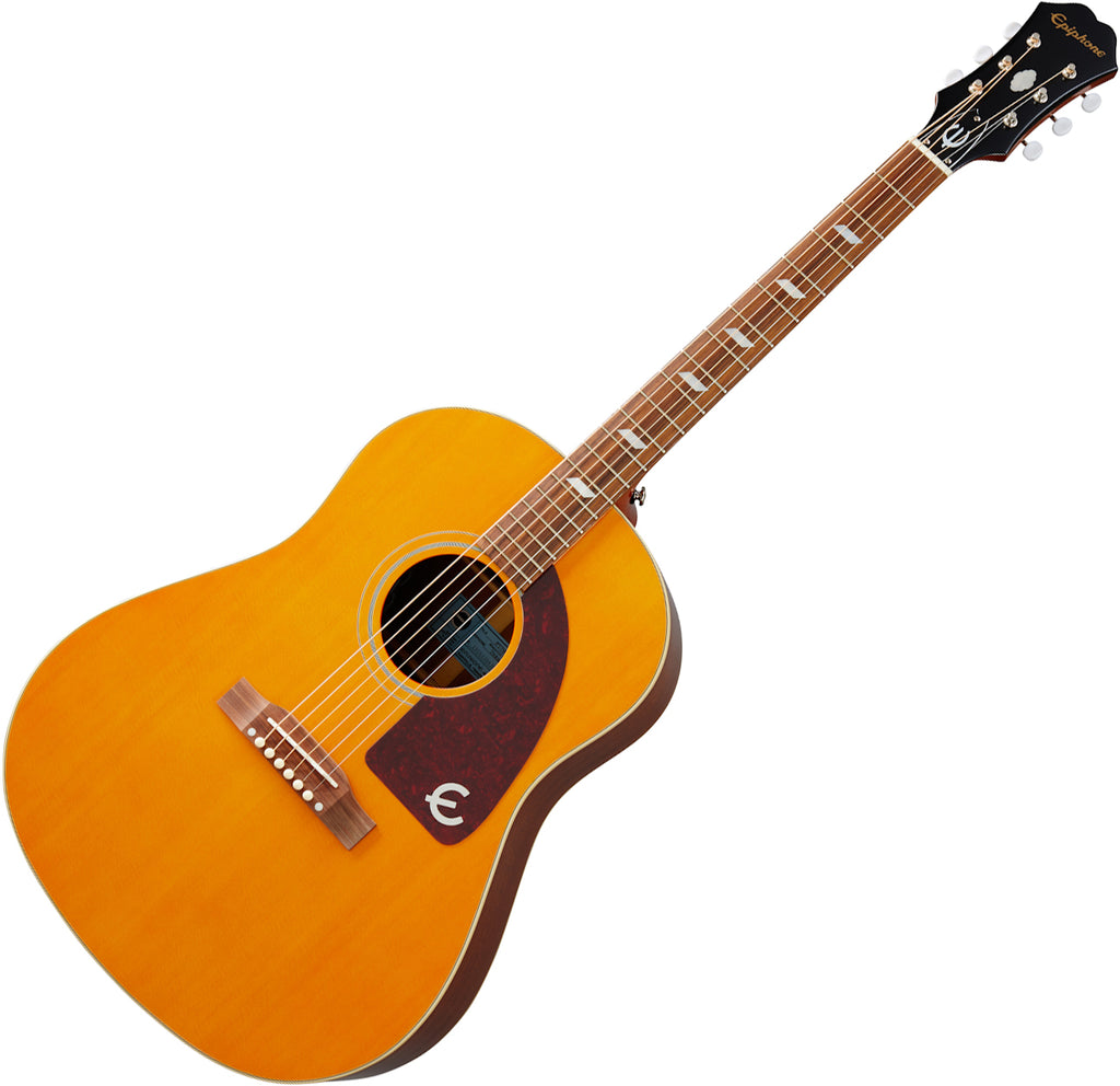 Epiphone Masterbilt Texan Acoustic Electric in Natural - EMTXANNH