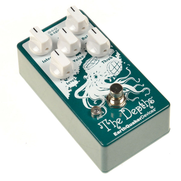 Earthquaker THEDEPTHS2 Depths Optical Vibe Device Effects Pedal V2