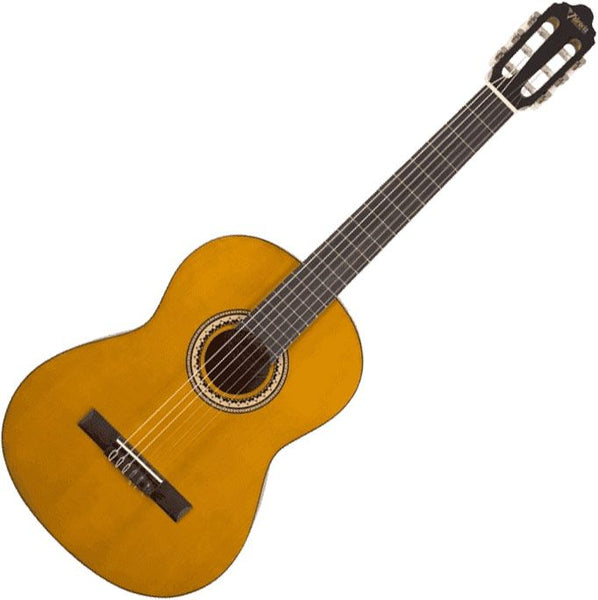 Valencia 1/4 Size Nylon String Classical Guitar in Aged Natural - VC201AN