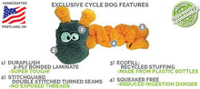 Cycle Dog Duraplush Coil Caterpillar - Happy Tails Natural Treats