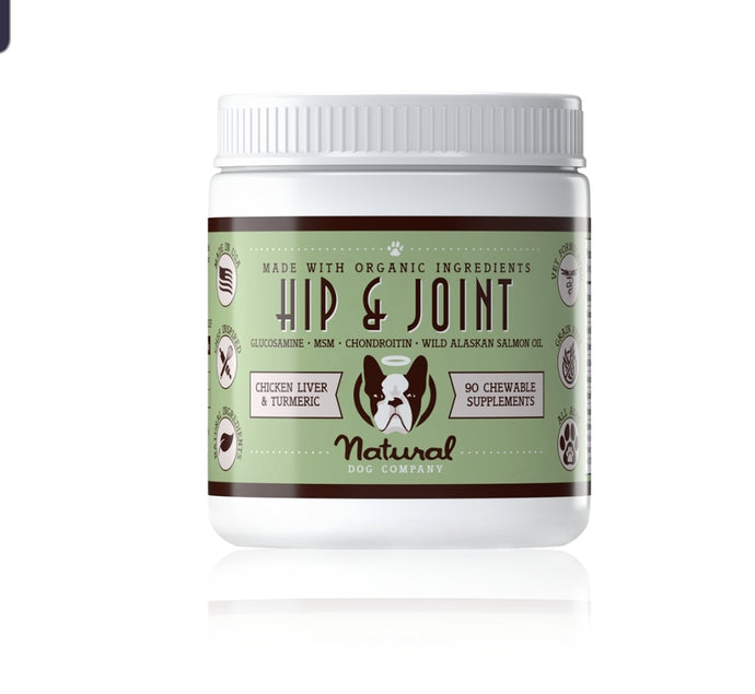 Natural Dog Company Hip & Joint Suppliments