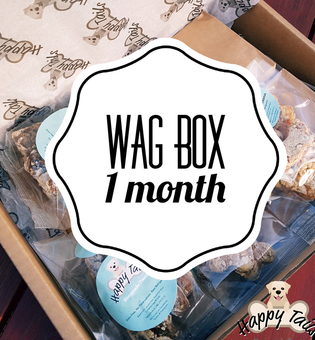 Wag Box monthly subscription (Treats Only)