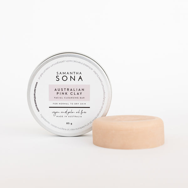 Australian Pink Clay Facial Cleansing Bar
