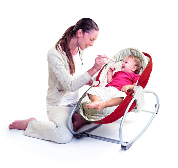 Tiny Love 3 in 1 Rocker Napper Red Cream