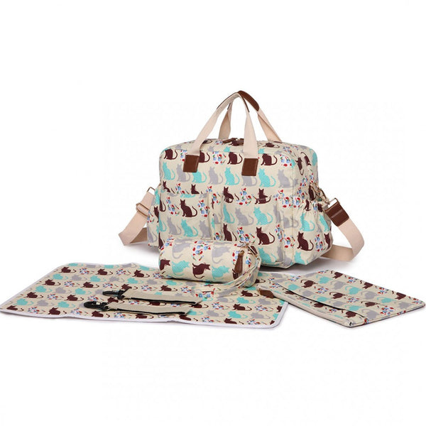Bambinos Cats Changing Bag Sets